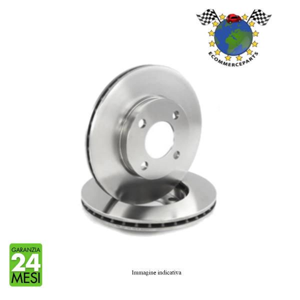 Kit 2 dischi freno anteriori Abs Kit 4 pastiglie freno anteriori ECP Ecommerceparts 9145375027717